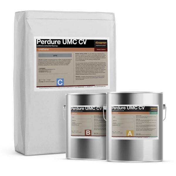 Perdure UMC CV cove base urethane concrete flooring