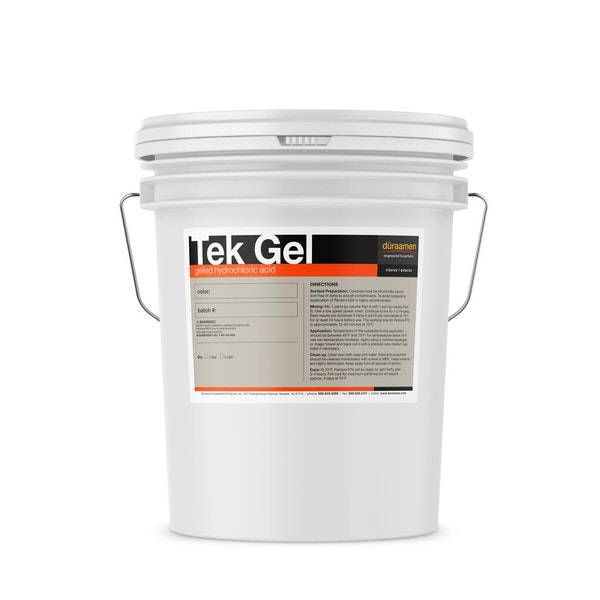 Tek Gel gelled hydrochloric acid