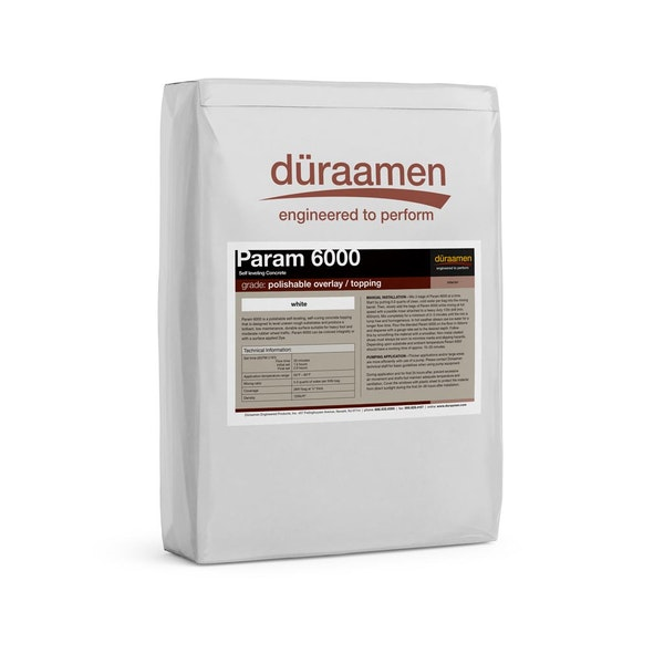 Param 6000 polishable self leveling concrete