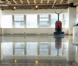 Polished Concrete In Process
