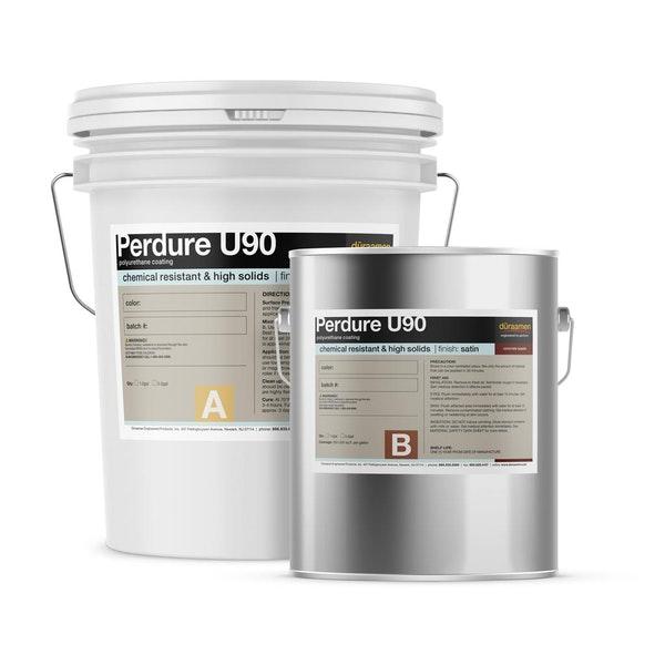 Perdure U90 chemical resistant, high solids polyurethane coating (Gloss or Satin)