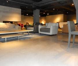 A modern concrete resurfaced floor for a modern space. (thumbnail)