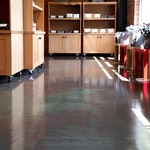 Metallic Epoxy Flooring: A Great Option for Retail Stores — Wüsthof Outlet ex. 9