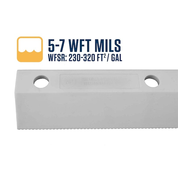 "18"" Easy Squeegee™ 5-7 WFT Mils Blade"