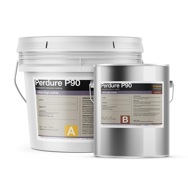 Perdure P90 High solids polyaspartic polyurea coating
