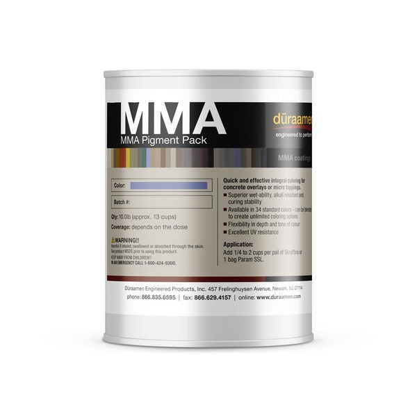 MMA Pigment Pack