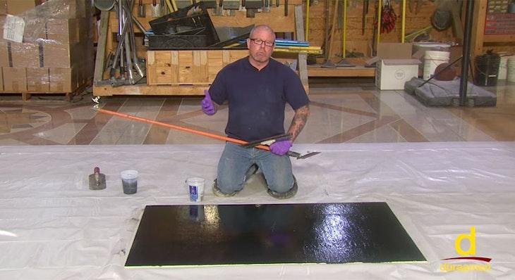 Designer Epoxy Coatings 01 | Garage Floors and Basements