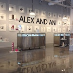 Concrete microtopping for flooring-Alex & Ani