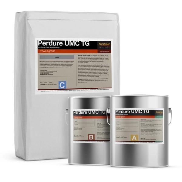Perdure UMC TG trowel grade urethane concrete flooring