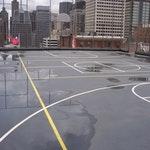 MMA resin basketball court