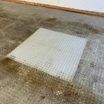 Bactoclean microbial hydrocarbon cleaner from duraamen. Used to clean oil and grease on concrete floors. Used in garages, auto mechanic shops, and the like. Photo 2