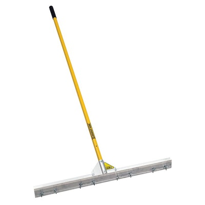 "36"" Wire Gauge Rake - 66"" Handle"