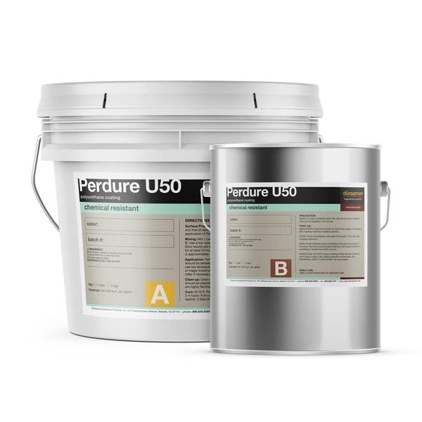 Perdure U50 chemical resistant polyurethane coating