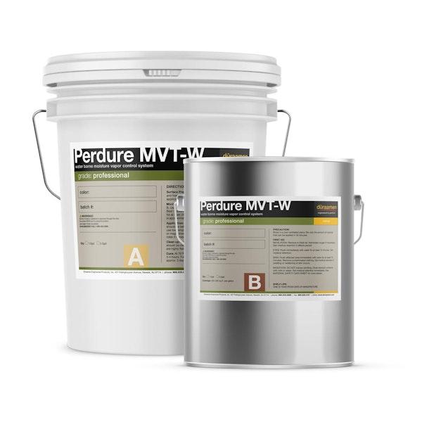 Perdure MVT-W water borne moisture vapor control system
