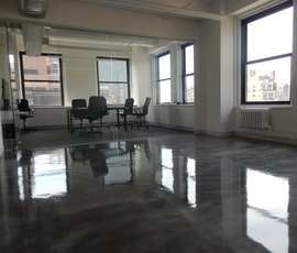 A combination of antique silver and bright silver was installed over an area of 1800 sq.ft.  (thumbnail)