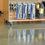 Metallic Epoxy Flooring: A Great Option for Retail Stores — Wüsthof Outlet ex. 1