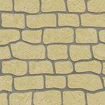 Antique Colonial Tile Concrete Stencil ex. 1