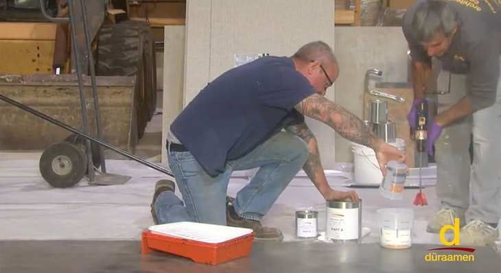 How to encapsulate vinyl tile with concrete topping | Part 3/3
