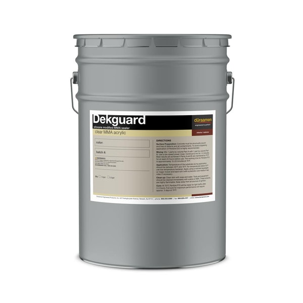 Dekguard siloxane modified MMA sealer