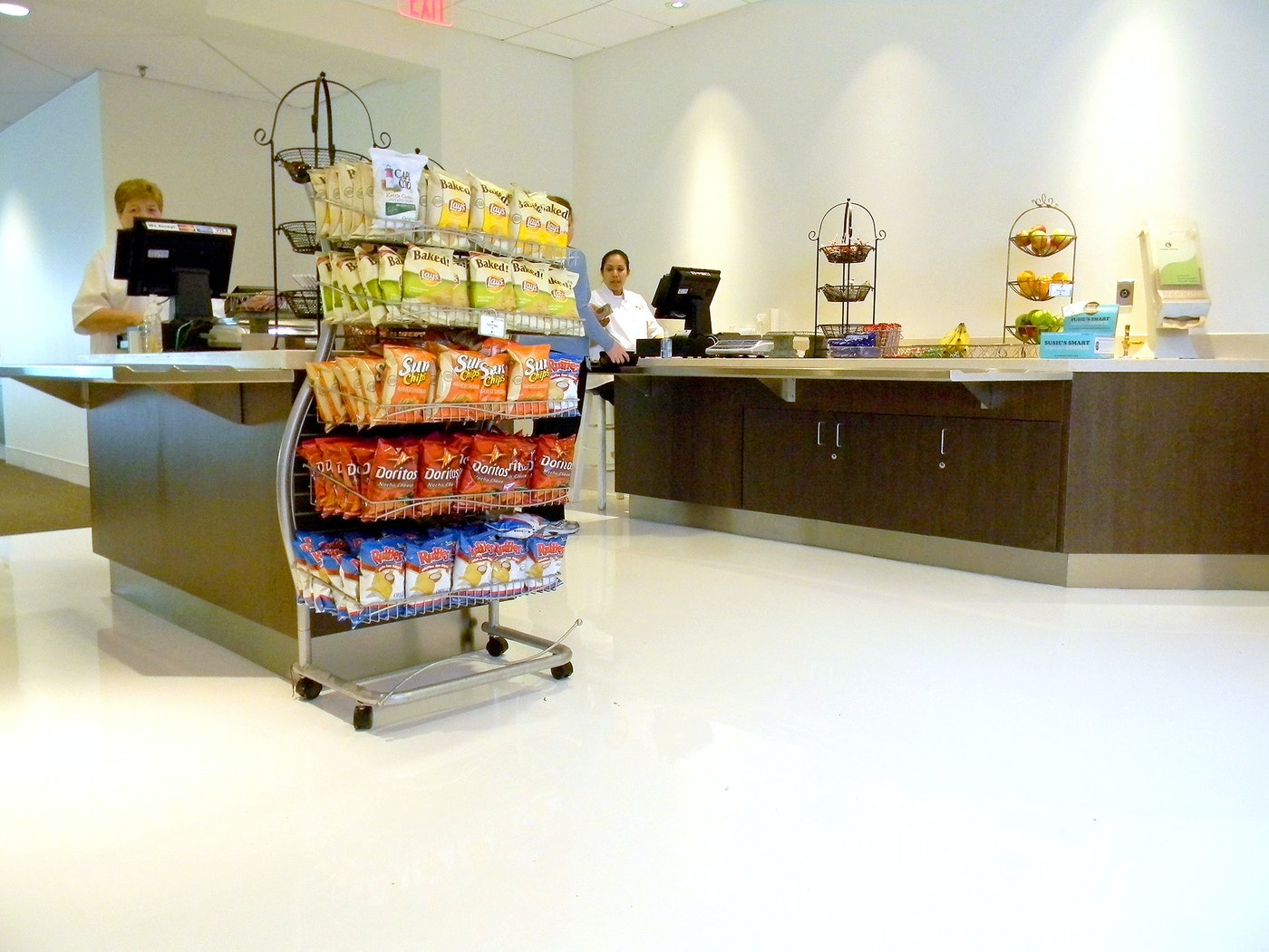 Cafeteria Flooring - Self-leveling Epoxy Flooring in New