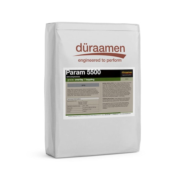 Param 5500 self-leveling concrete overlay