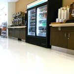 Self-leveling Epoxy Concrete Flooring: Cafeteria in New Balance's HQ. ex. 5