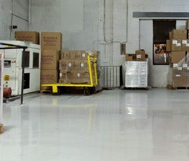 Resinous floor coatings from Duraamen are the perfect solution for industrial settings. (thumbnail)