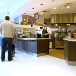 Self-leveling Epoxy Concrete Flooring: Cafeteria in New Balance's HQ. ex. 7