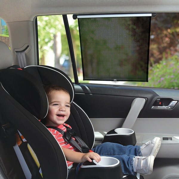 Suction Cups Or Clip Attachment O Universal Size Compatable With Most Vehicle Windows Durable And Lightweight Helps Protect Against UVA UVB Rays
