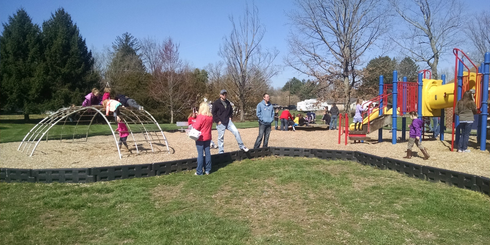 Melick's Grove Playground Opening Day