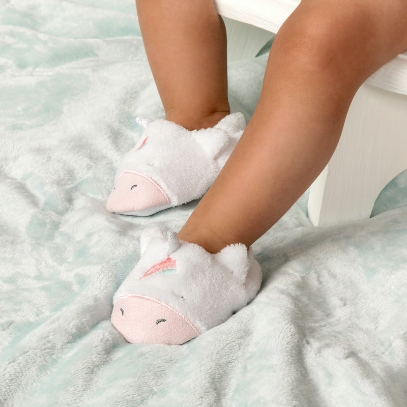 infant girl slippers