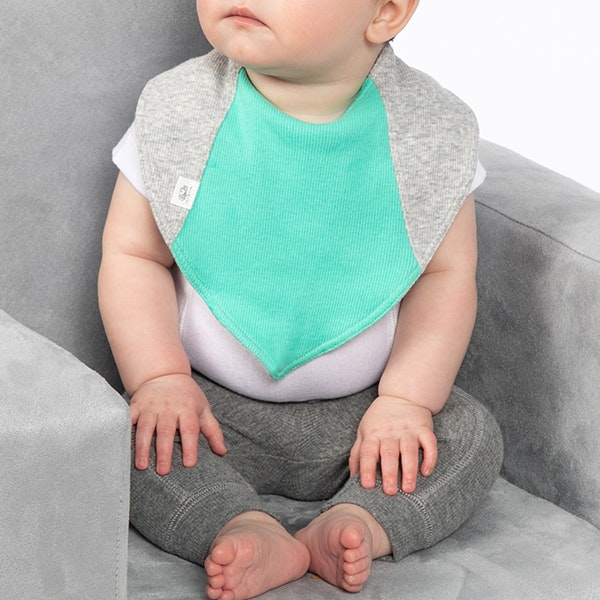 child with Infant Bibs