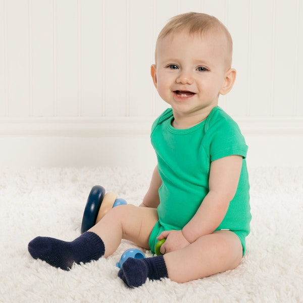 child with Infant Boys Bodysuits