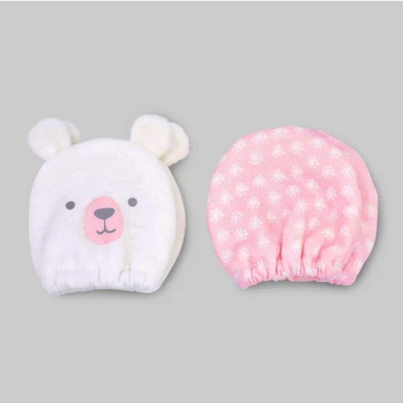 infant girl mittens