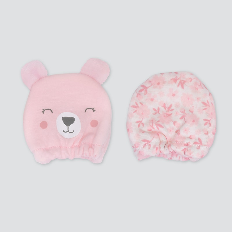 infant girl mittens