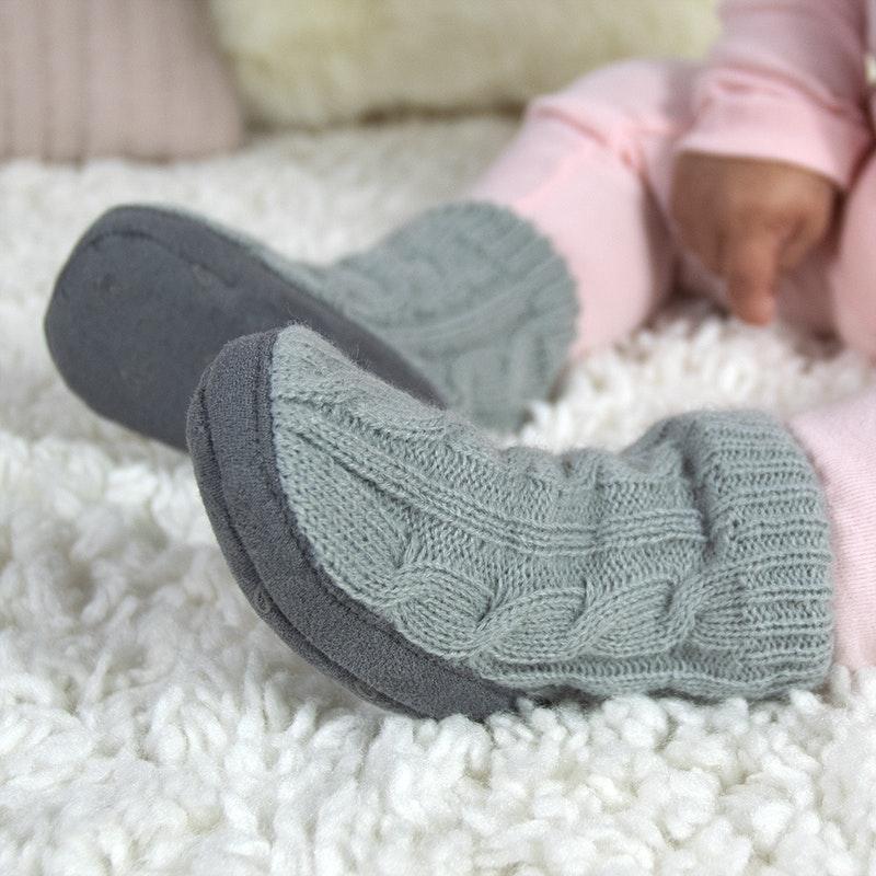 infant girl slippers