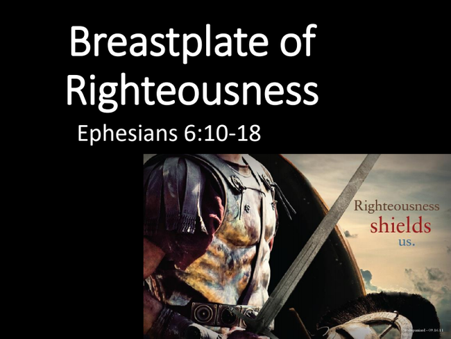 Breastplate of Righteousness: Hands of Faith Church