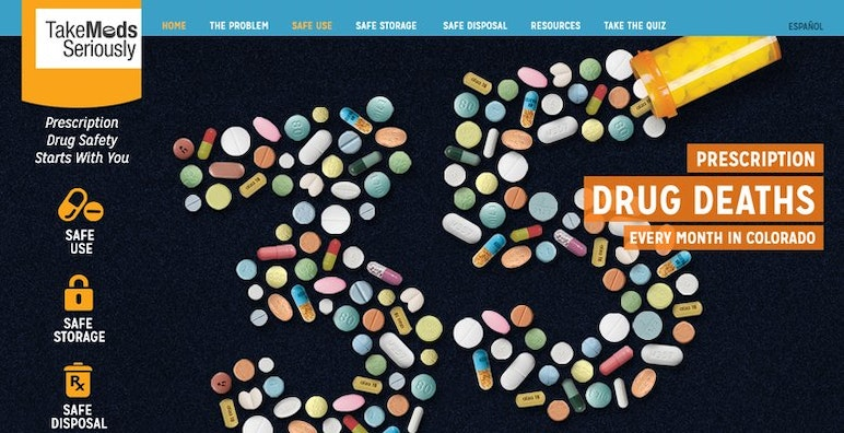 Take Meds Seriously – A Prescription Drug Abuse Prevention Campaign