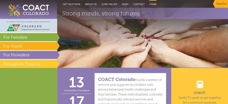 COACT Colorado Website – Recognize Trauma