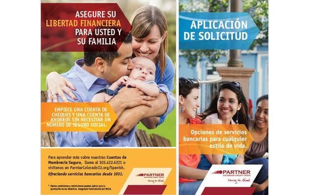 Collateral Materials for Partner Colorado Credit Union