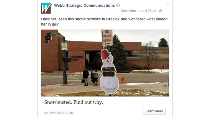 Frosty Gets Busted