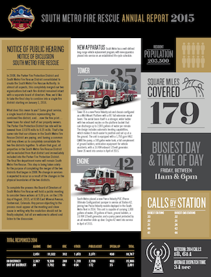 South Metro Fire Rescue Annual Report