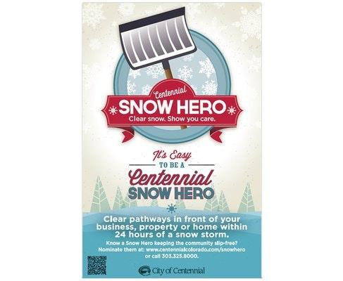 Centennial Snow Hero