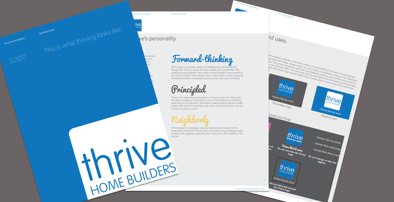 Thrive Branding Guide