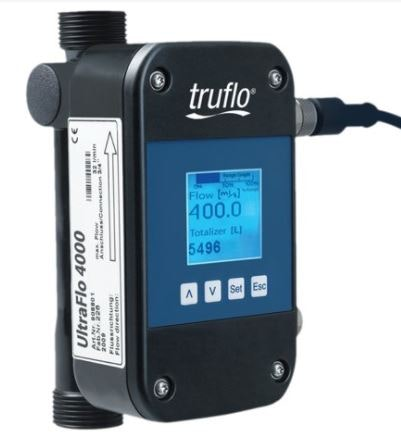 UltraFlo 4000 Series All Plastic Ultrasonic Flow Meter