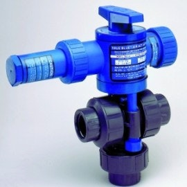 3-Way Air Actuated Ball Valves