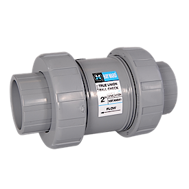 TC Series Industrial True Union Ball Check Valves