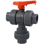 True Union 3-Way Ball Valves