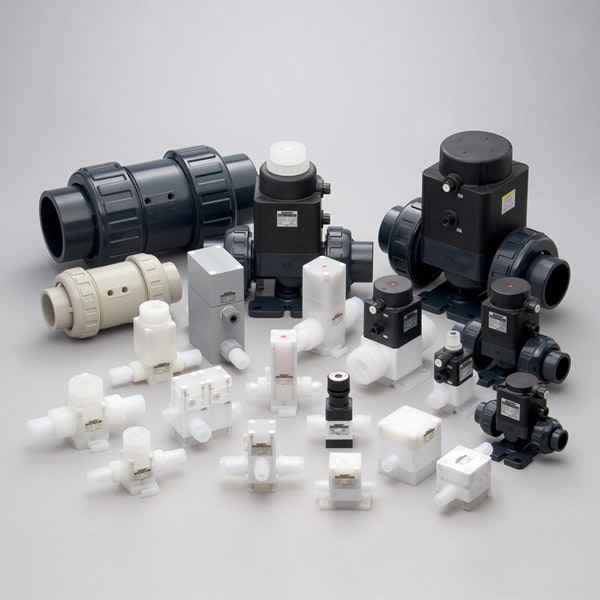 Dymatrix™ PVC Valves