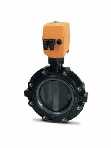 Type 145-147 Pneumatically Actuated Butterfly Valve